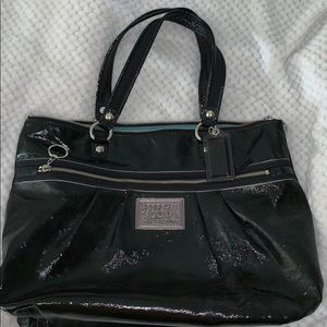 Coach Poppy leather tote